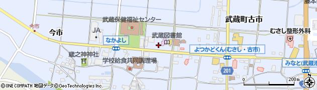 大分県国東市武蔵町古市1127周辺の地図