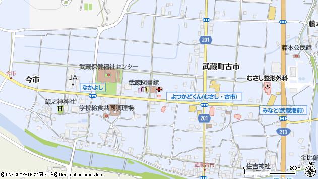 大分県国東市武蔵町古市1139周辺の地図