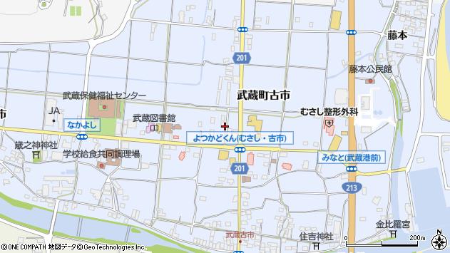 大分県国東市武蔵町古市170周辺の地図