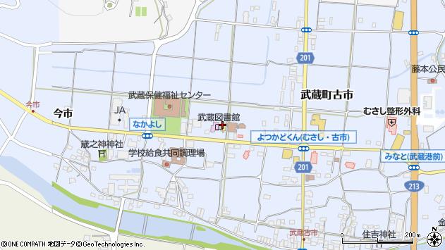 大分県国東市武蔵町古市1134周辺の地図