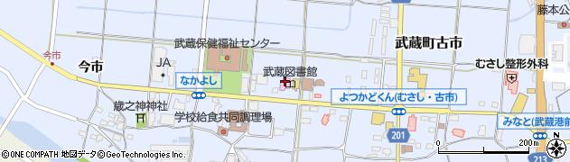 大分県国東市武蔵町古市1131周辺の地図