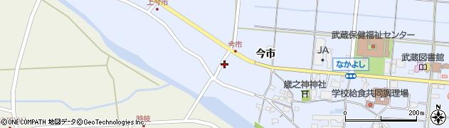 大分県国東市武蔵町古市807周辺の地図