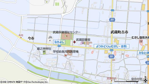 大分県国東市武蔵町古市1123周辺の地図