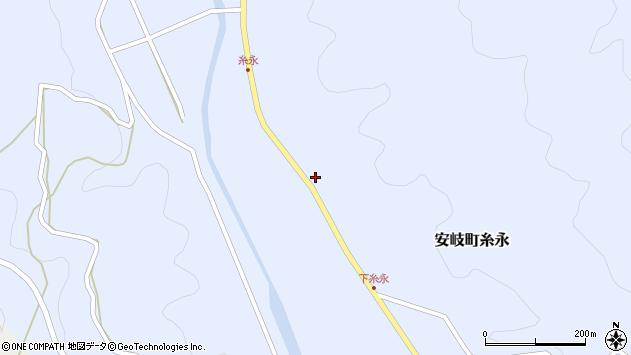 大分県国東市安岐町糸永2961周辺の地図