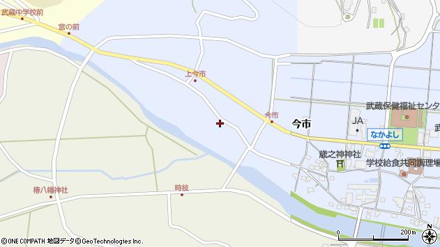 大分県国東市武蔵町古市836周辺の地図