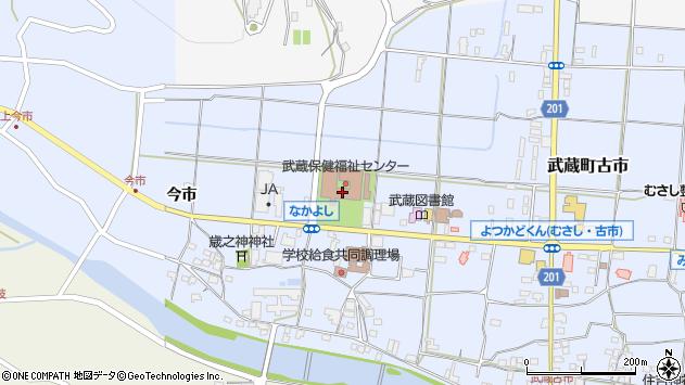 大分県国東市武蔵町古市1086周辺の地図
