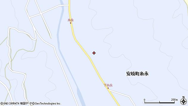 大分県国東市安岐町糸永2930周辺の地図