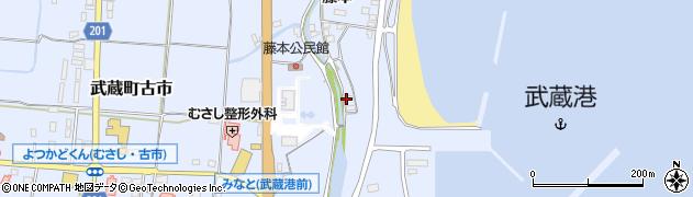 大分県国東市武蔵町古市399周辺の地図