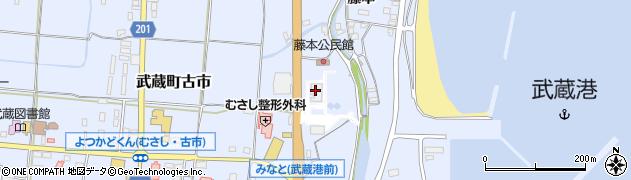 大分県国東市武蔵町古市133周辺の地図