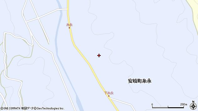 大分県国東市安岐町糸永3118周辺の地図