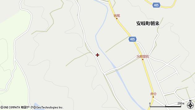 大分県国東市安岐町朝来1954周辺の地図