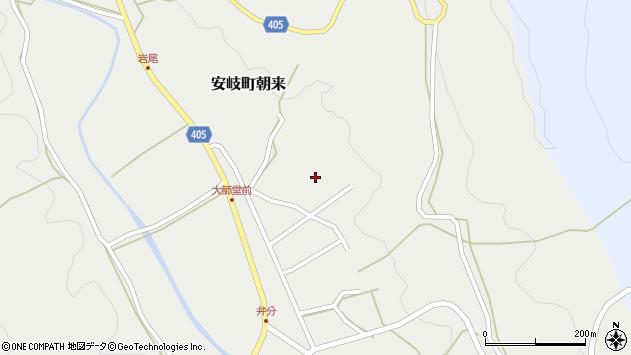 大分県国東市安岐町朝来3582周辺の地図