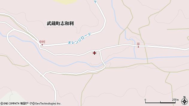 大分県国東市武蔵町志和利671周辺の地図