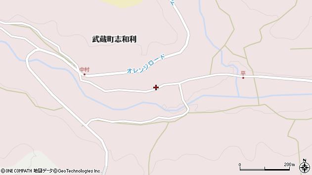 大分県国東市武蔵町志和利687周辺の地図