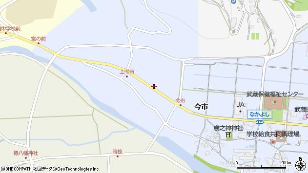 大分県国東市武蔵町古市1201周辺の地図