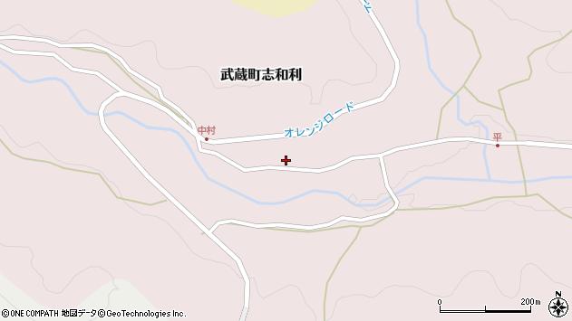 大分県国東市武蔵町志和利786周辺の地図