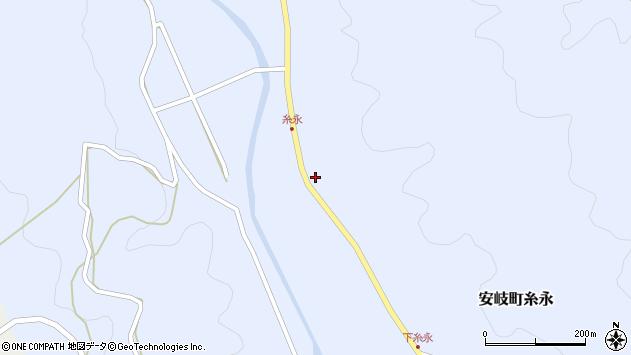 大分県国東市安岐町糸永2903周辺の地図