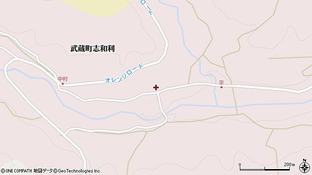 大分県国東市武蔵町志和利708周辺の地図