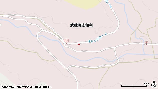 大分県国東市武蔵町志和利843周辺の地図