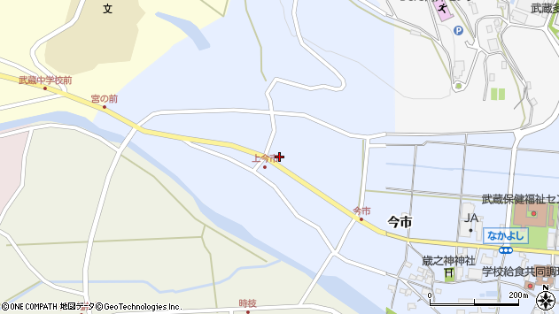 大分県国東市武蔵町古市1004周辺の地図