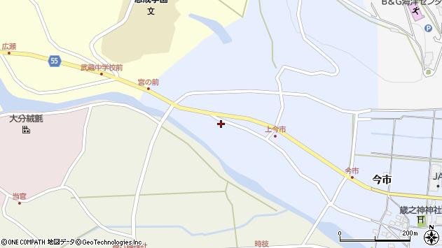 大分県国東市武蔵町古市899周辺の地図