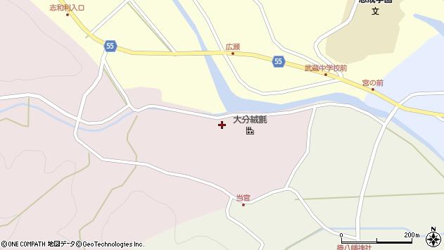 大分県国東市武蔵町三井寺267周辺の地図