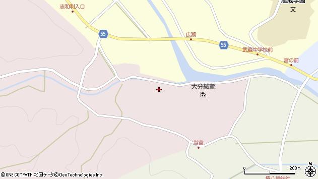 大分県国東市武蔵町三井寺2068周辺の地図