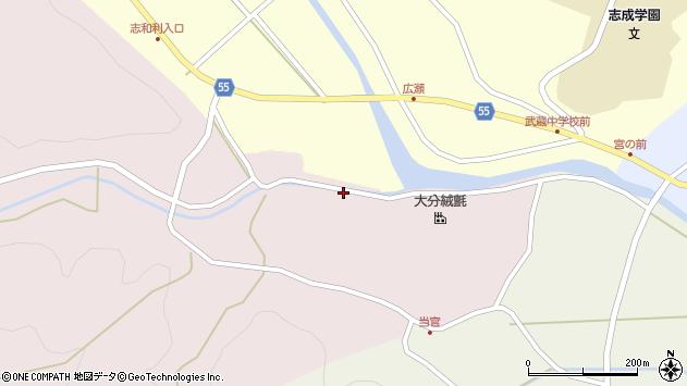 大分県国東市武蔵町三井寺2067周辺の地図
