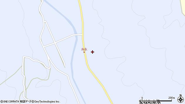 大分県国東市安岐町糸永周辺の地図