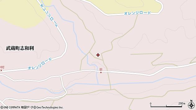 大分県国東市武蔵町志和利428周辺の地図