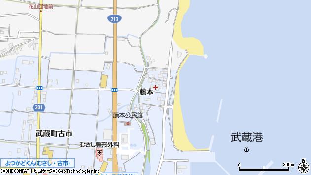 大分県国東市武蔵町古市340周辺の地図