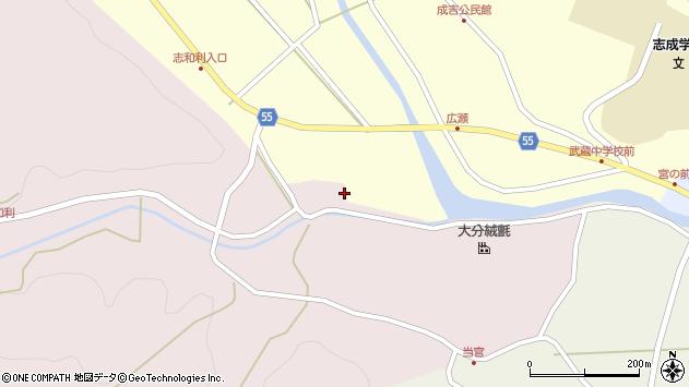 大分県国東市武蔵町成吉516周辺の地図