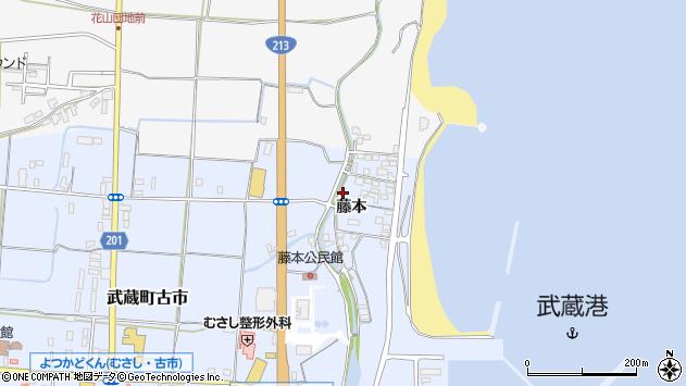 大分県国東市武蔵町古市372周辺の地図