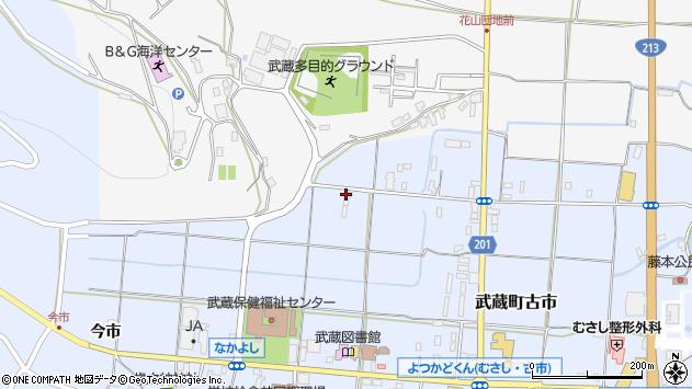 大分県国東市武蔵町古市1171周辺の地図