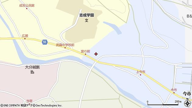 大分県国東市武蔵町古市963周辺の地図