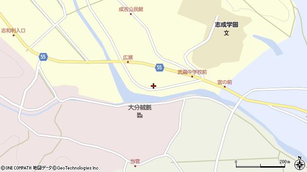 大分県国東市武蔵町成吉777周辺の地図