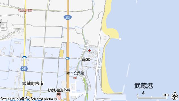 大分県国東市武蔵町古市202周辺の地図