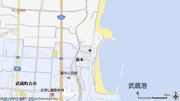 大分県国東市武蔵町古市397周辺の地図