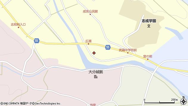大分県国東市武蔵町成吉774周辺の地図