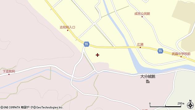 大分県国東市武蔵町成吉503周辺の地図