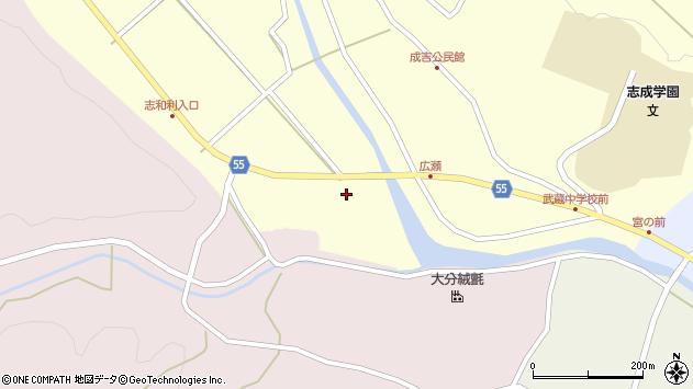大分県国東市武蔵町成吉戸取周辺の地図