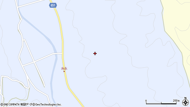 大分県国東市安岐町糸永柚ノ木周辺の地図
