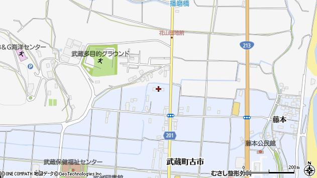 大分県国東市武蔵町古市310周辺の地図