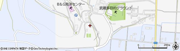 大分県国東市武蔵町内田940周辺の地図