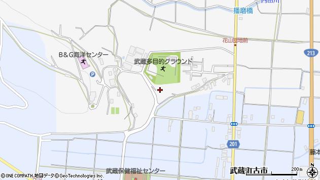 大分県国東市武蔵町内田8周辺の地図