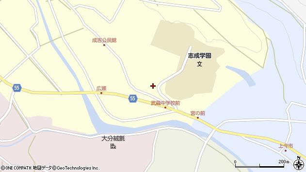 大分県国東市武蔵町成吉866周辺の地図