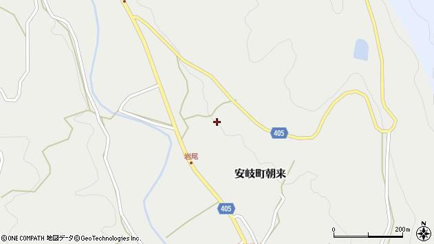 大分県国東市安岐町朝来3347周辺の地図