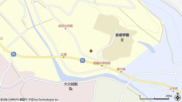 大分県国東市武蔵町成吉887周辺の地図