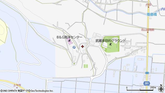 大分県国東市武蔵町内田973周辺の地図