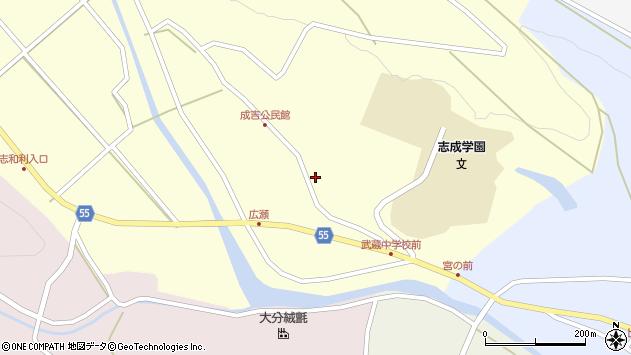 大分県国東市武蔵町成吉724周辺の地図